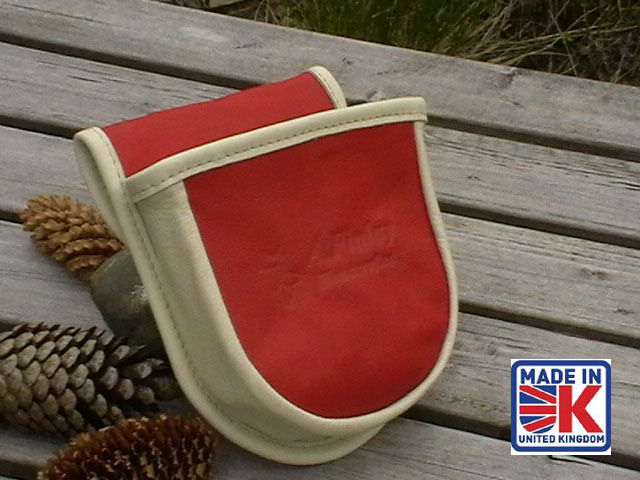 LEATHER SHOOTING CARTRIDGE BAG POUCH CLAY PIGEON SKEET SHOOTING SHOOTER CRL