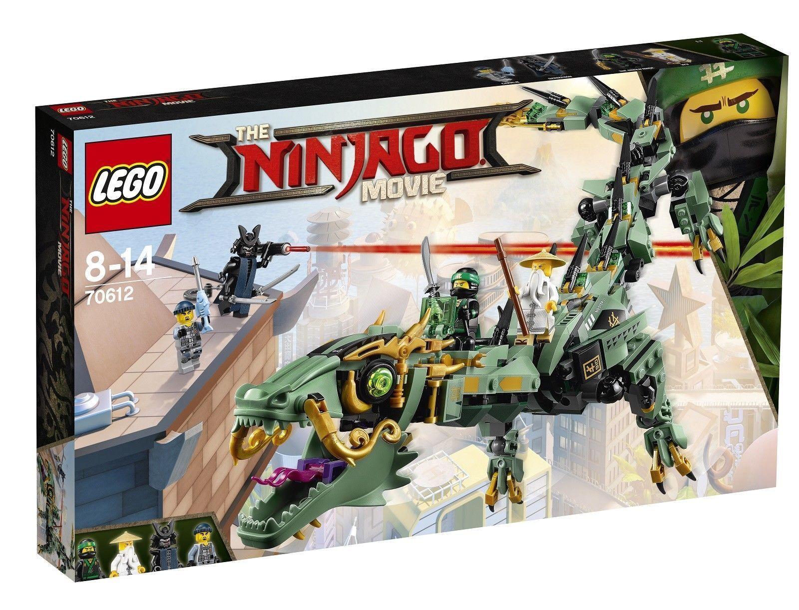 LEGO Ninjago 70612 - Green Mech Dragon - New & Sealed