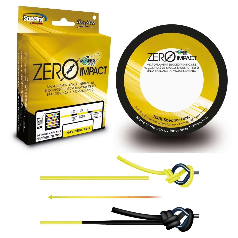 energiaPro Zero Impact Spectra pesca Braided Line 500 Yd  Pick ColoreeLine Test