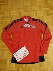NWT-FCB-Bayern-Munich-FCB-Football-Soccer-Adidas-Anthem-Jacket-Men-Large