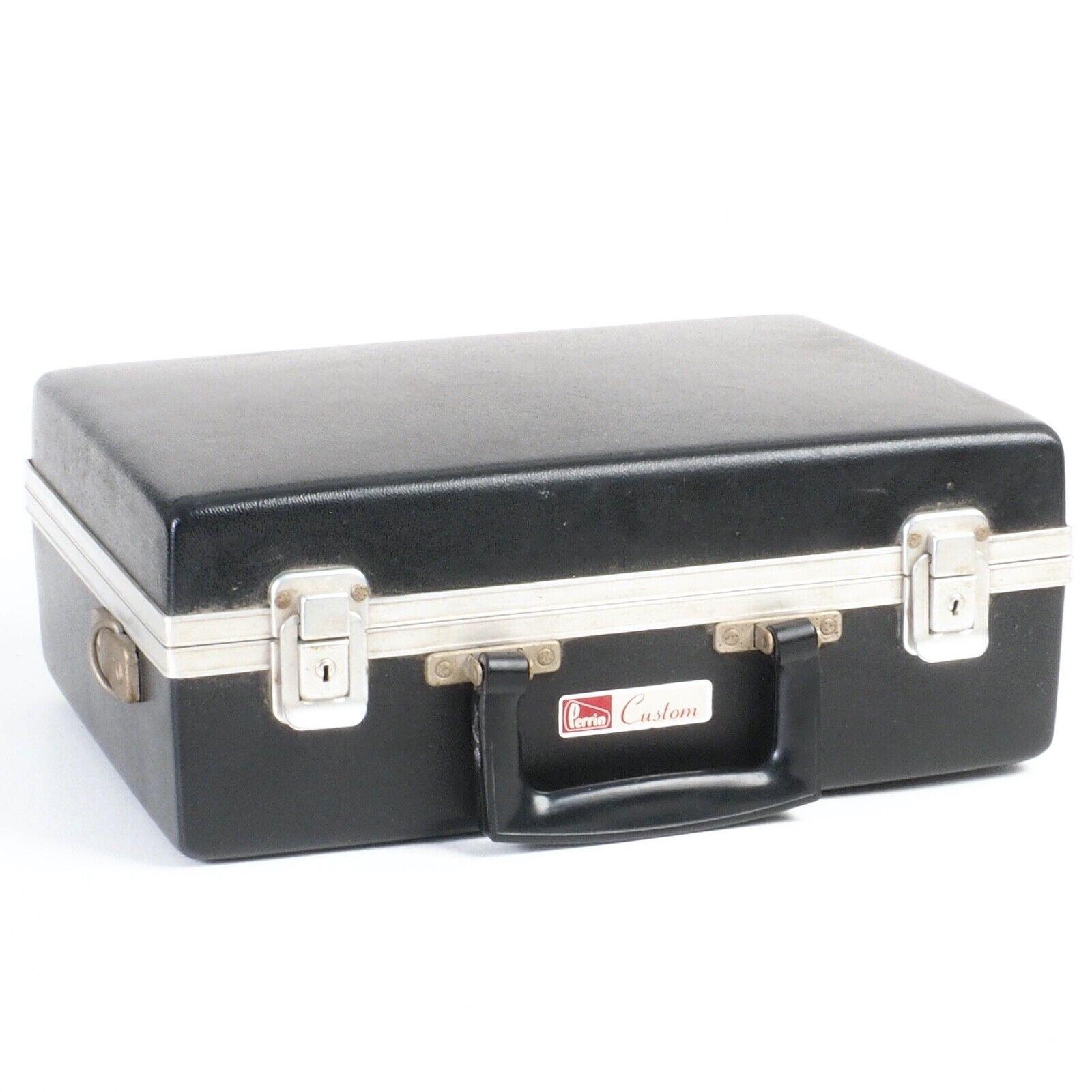 ^ Perrin Custom Camera Black Hardcase w/ Pre Cut Inserts [EX]