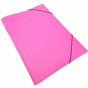 5-x-A3-Folders-Elasticated-Pink-Carry-Cases-Portfolio-Case-Art-Work-Holder-Box