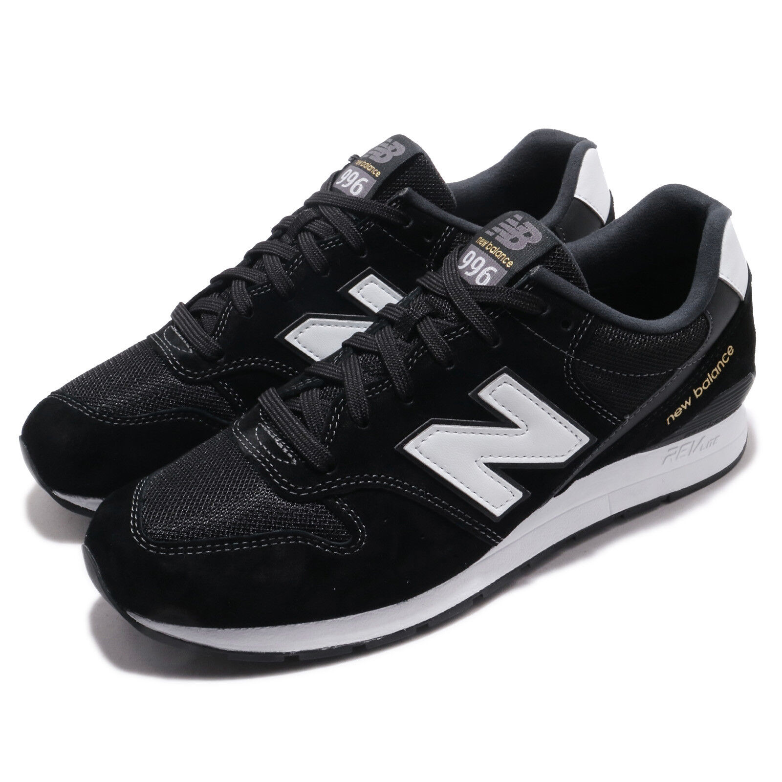 New Balance MRL996PK D Black White gold Men Running shoes Sneakers MRL996PKD