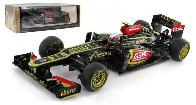SPARK S3054 LOTUS E21  8 Australian GP 2013-Romain Grosjean échelle 1 43