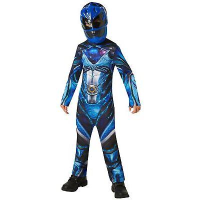 Child POWER RANGERS Movie 17 Superhero Licensed Fancy Dress Costume Boys Girl