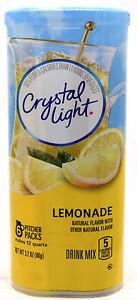 4-12-Quart-Canisters-Crystal-Light-Natural-Lemonade-Drink-Mix