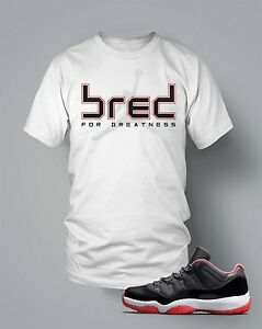 16eb9d8b85e6 Jordan 11 Bred Shirt to Match Jordans Shirt in White Tee is the ...