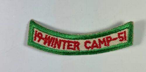 1952 Occoneechee Council Camp Durant Raleigh NC Winter Camp Segment HT108