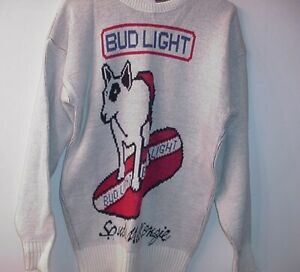 VINTAGE-SPUDS-MACKENZIE-CLIFF-ENGLE-LARGE-UGLY-CHRISTMAS-SWEATER-7