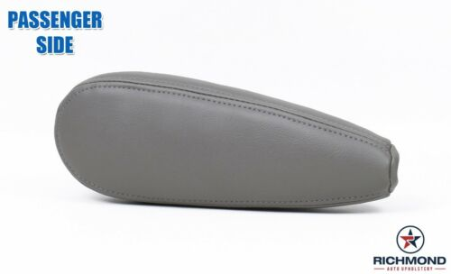 1995-1999 Chevy Tahoe LT LS with Leather PASSENGER Side Seat Armrest Cover GRAY