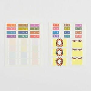 Hobonichi-Index-Stickers-Adhesives-With-Custom-For-Planners