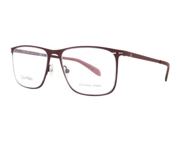 0c25b96f3f4 NEW Calvin Kein CK5410 604 53mm Burgundy Optical Eyeglasses Frames