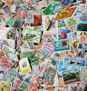 1000s-DIFFERENT-OLD-NEW-WORLDWIDE-Stamps-Collection-Lot-Packs-of-250-Each
