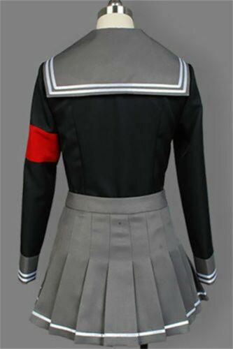 Danganronpa Dangan-ronpa Peko Pekoyama Cosplay Costume School Uniform Outfit Set