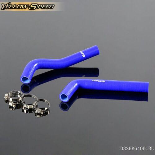Silicone Coolant Radiator Hose Kit For 04-08 Yamaha Yfz450 Yfz 450 Blue