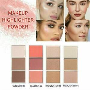 Shimmer-Makeup-Highlighter-Powder-Palette-Concealer-Illuminator-Face-Bronzer