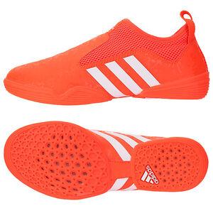 Caricamento dell'immagine in corso Adidas-2017-TaeKwondo-Shoes -Orange-ADI-BRAS16