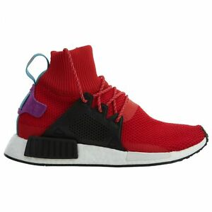 Details about Adidas Nmd_XR1 Winter Mens BZ0632 Red Black Boost Roller Knit Shoes Size 8