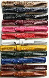12mm-14mm-16mm-FLEURUS-TRI-PAD-HAND-MADE-GENUINE-LEATHER-WATCH-BAND-STRAP