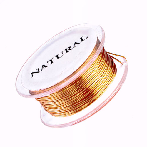 30 Gauge Permanently Colored Wire 50 Yard Spool Copper Colored