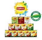 LIPTON TEA - 20 PYRAMID BAGS - SEALED BOX - MANY FLAVOURS - REAL FRUITS TEA