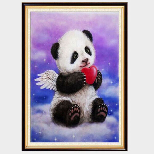 DIY 5D Diamond Painting Panda Embroidery Cross Stitch Craft Home Art Decor CO