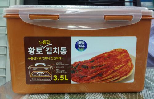 NEW Vacuum Airtight Kimchi Container BPA FREE Fresh Food Storage Box
