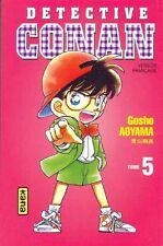 DETECTIVE CONAN tome 5 Gosho AYOMA manga shonen