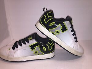DC Skate Shoes 13 300927 White With