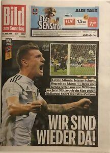 BILD-am-Sonntag-24-06-2018-DEUTSCHLAND-SCHWEDEN-2-1-WM-2018-2-Spiel