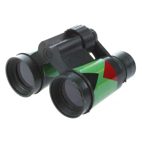 Camouflage Green Plastic 10 x 30mm Binocular Toy Fun Boy for Child Kids Gif T3I6