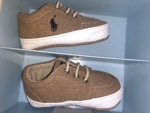 Ralph Lauren Layette Darrell II Crib Shoe 2 M Infant//Toddler Pick SZ//Color.