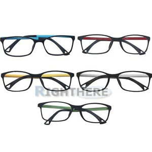 BRAND-NEW-MATT-FASHION-3-PAIRS-PLASTIC-STANDARD-READING-GLASSES-1-0-3-5