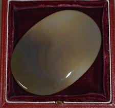 Designer Natural 70x50 mm  AGATE Oval Cabochon Large Gemstone 59.1g