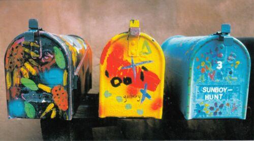 """Carte postale grand 11x20 cm coll /""""comme un voyage/"""" USA ETATS-UNIS SANTA FE boxe"""