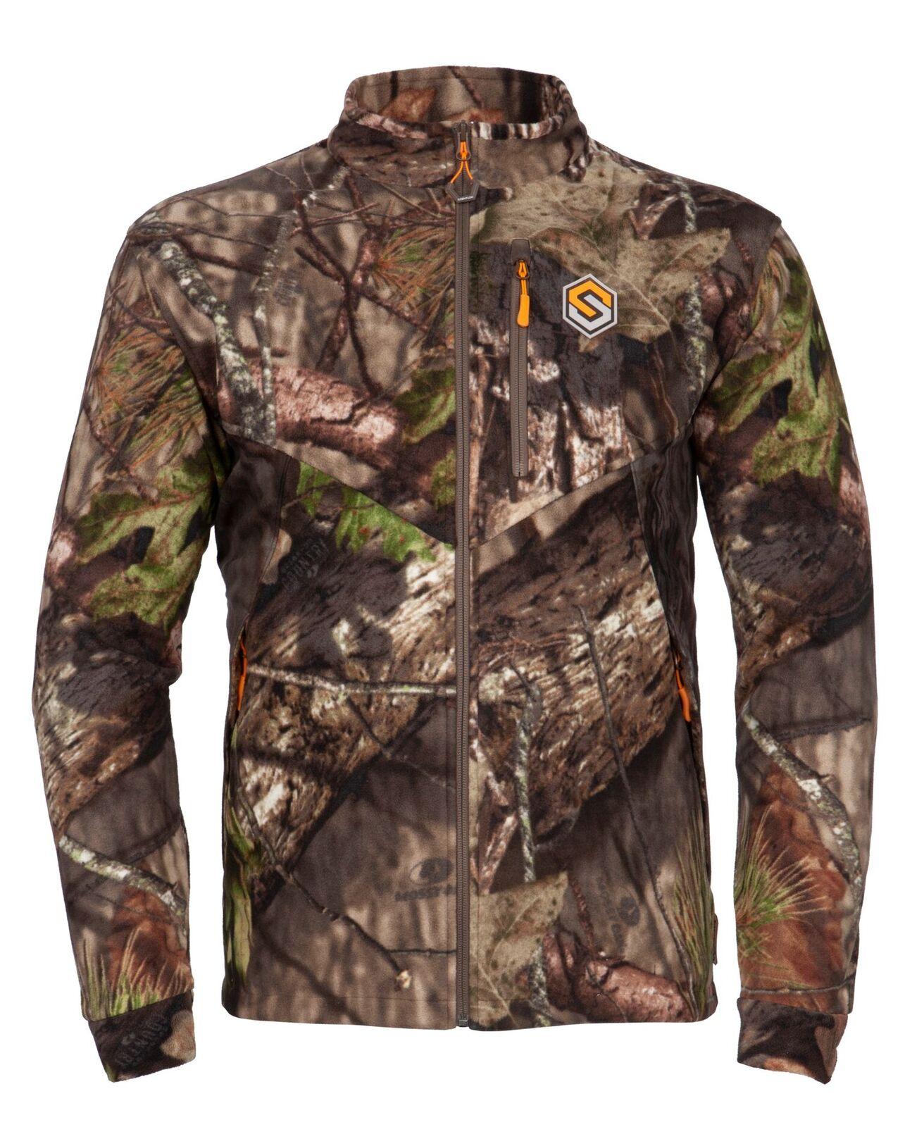 ScentLok Windbrace Fleece Jacket (Mossy Oak Country, X-Large)