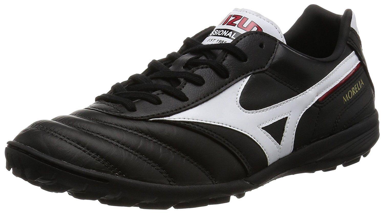 Zapatos DE FUTSAL FÚTBOL FÚTBOL Mizuno Morelia TF Negro Q1GB1600 US5.5 (23.5 Cm)
