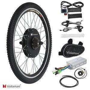 Radsport Fahrradteile & -komponenten 26 36V 250W Hinterrad E Bike Conversion Kit Ebike Elektrofahrrad Umbausatz NEU