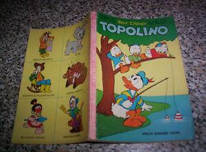 TOPOLINO-LIBRETTO-N-234-ORIGINALE-MONDADORI-DISNEY-1960-CON-BOLLINO