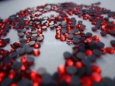 2000 Hotfix Strasssteine, *Siam/Rot*, SS06 ~ 1,8-2mm, Super Qualität