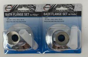 Danco Chrome Bath Flange Set For Price Pfister 88457 Quantity Of 2 37155884575 Ebay