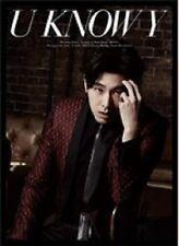 TVXQ DBSK TOHOSHINKI YUNHO Solo Mini Album U KNOW Y (CD+DVD+Photobook)