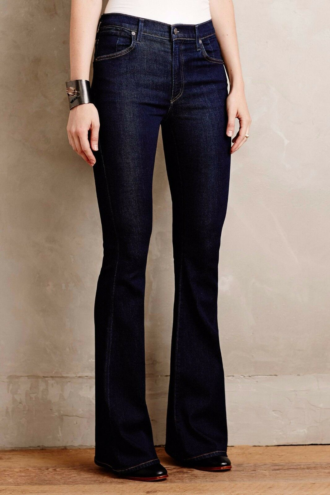 NWT CITIZENS OF HUMANITY FLEETWOOD SCULPT HIGH-RISE FLARE OZONE RINSE JEANS 27