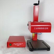 110V Desktop CNC pneumatic dot peen marking machines Metal engraving machines