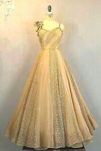 Details about Antique Original Sophie Original Lace Gown by Sophie Gimbel  Saks Fifth Avenue