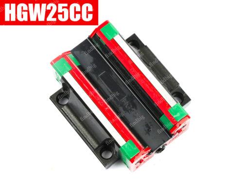 NEW HIWIN HGW25CC Slider For Linear Guideway HGH//HGW HGW25CC