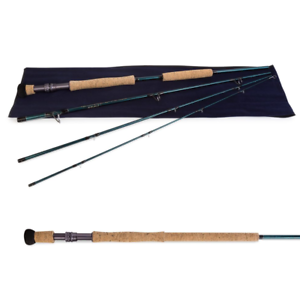 Temple Fork Outfitters blueewater Fly Fishing Rod 4pc, 8'6 , 13-15wt - TF BW MD
