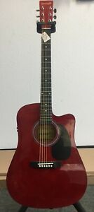 KENNETH-ACOUSTIC-ELECTRIC-DREADNOUGHT-GUITAR-w-PADDED-GIG-BAG-AND-STAGG-TUNER