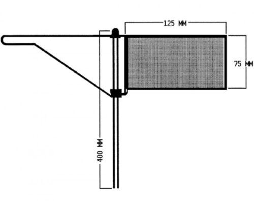 Verklicker Windfahne Standard Talamex