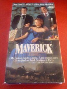 VHS-Movie-Maverick-Version-Francaise-Mel-Gibson-Judie-Foster